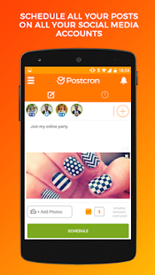 Postcron: Schedule your posts- screenshot thumbnail