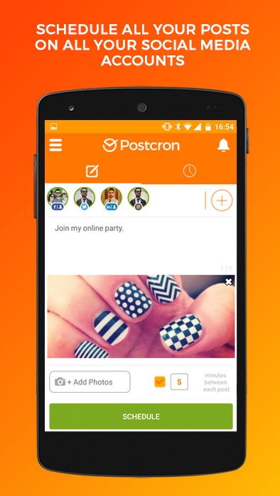 Postcron: Schedule your posts- screenshot
