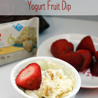 Lemon Cake Yogurt Fruit Dip