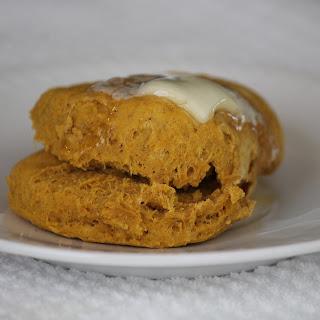Pumpkin Spiced Buttermilk Biscuits