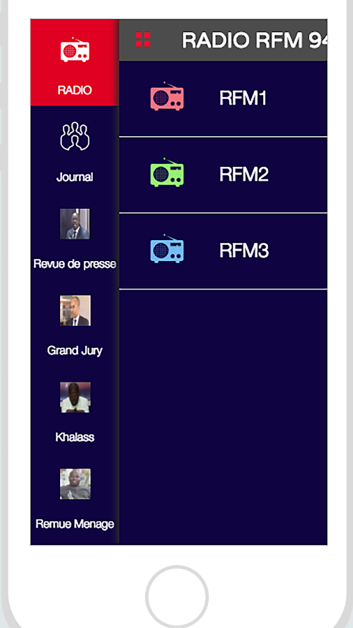 RFM RADIO SENEGAL- screenshot