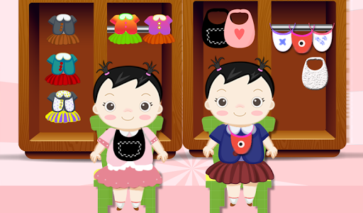 玩免費休閒APP|下載新生雙胞胎女嬰護理 app不用錢|硬是要APP
