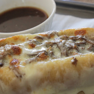 French Dip Crock Pot Dinner.