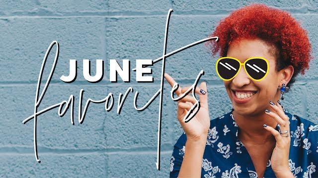 June Favorites - YouTube Thumbnail Template