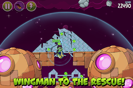 Angry Birds Space- screenshot thumbnail