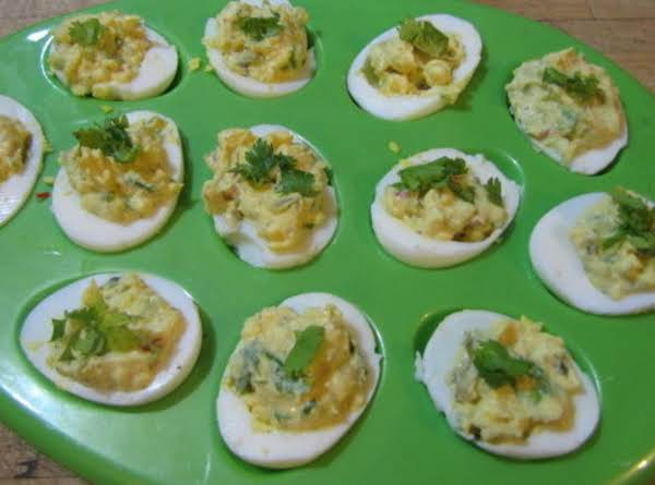 Spicy Lil-deviled Eggs!