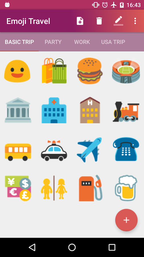 Emoji Travel- screenshot
