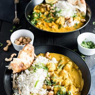 Coconut Vegetarian Korma