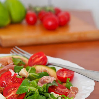 Fig, Prosciutto, Blue Cheese and Tomato Salad {Gluten-Free}
