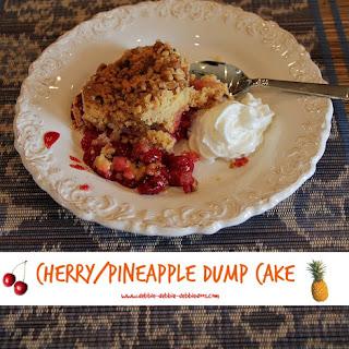 Cherry/Pineapple dump cake.