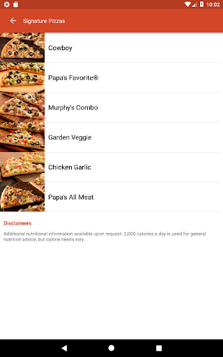 Screenshot for Papa Murphy's Pizza in United States Play Store