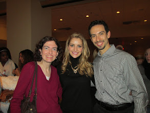 Photo: With Tanith Belbin & Ben Agosto
