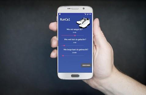 RunCal - náhled