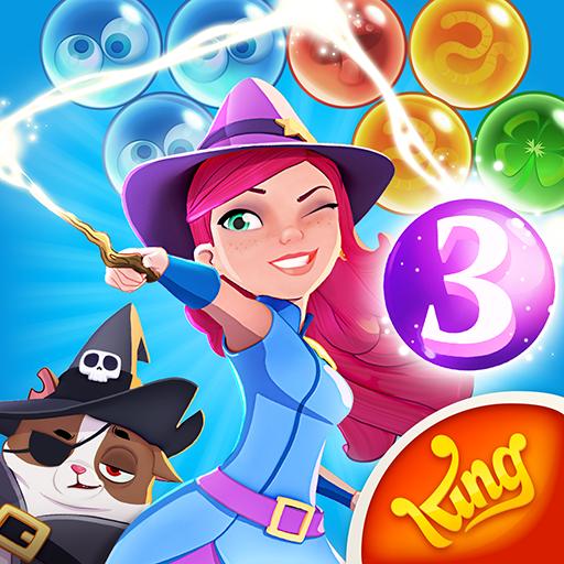 Bubble Witch 3 Saga – APK MOD HACK – Dinheiro Infinito