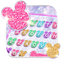 Girly Glitter Minny Keyboard Theme icon