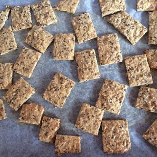 Foodies Mum's LCHF Seed Crackers.