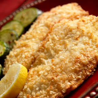 Tilapia With Buttery Crumb Topping.
