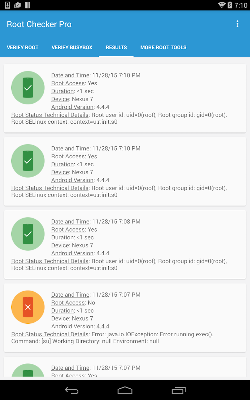 root checker pro full free android apk download