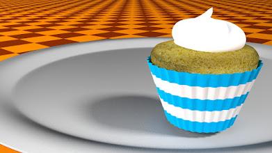 Photo: Modelo 3D - Cupcake - Blender 3D