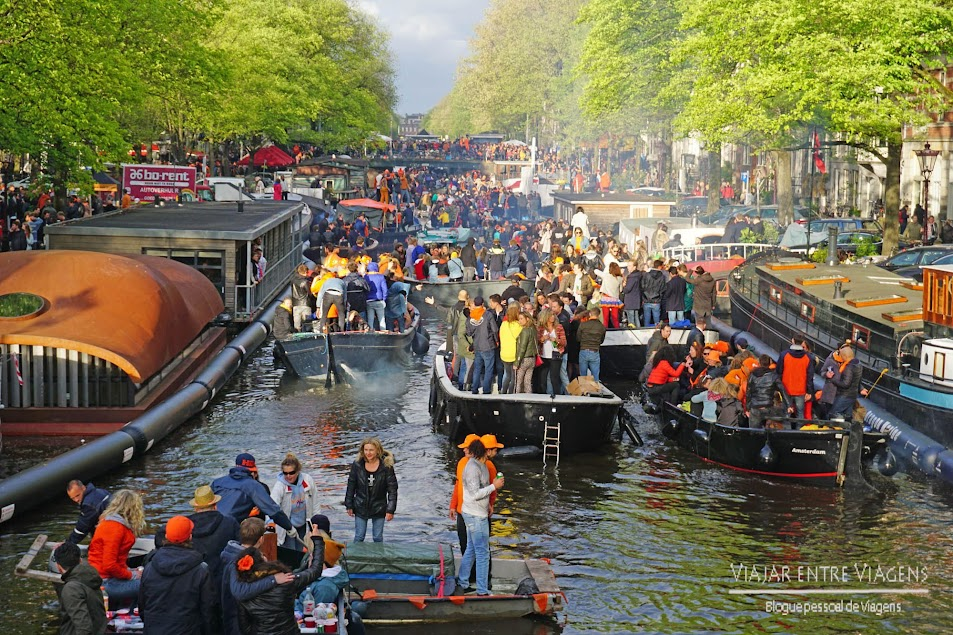 Koningsdag (King's Day) - Aniversário do Rei