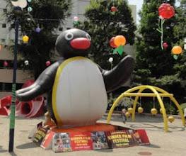 Photo: 2012年08月15日 キンダー・フィルム・フェスティバル  今年も開幕! ピングーがお出迎え。