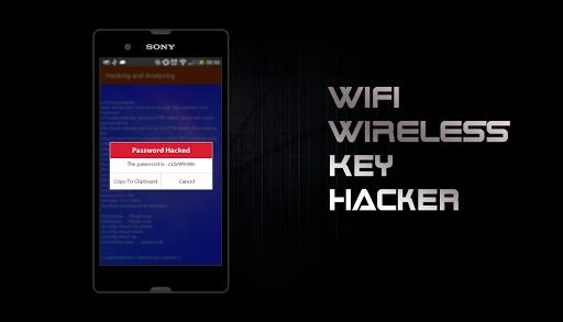 WIFI Wireless Key Hacker PRANK