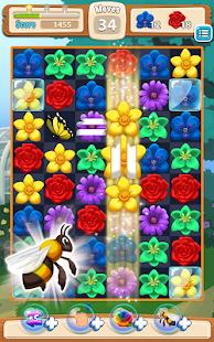 Blossom Blitz Match 3 Ekran Görüntüsü