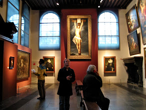 Photo: The gallery room. The Christ on the cross on the end is a Rubens.