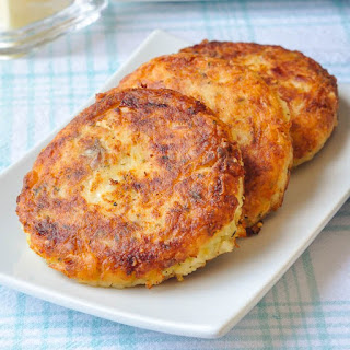 Fish Cakes With Mashed Potatoes Recipes.