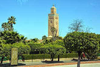 Photo: The Marrackech Mosque