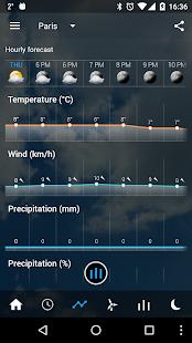 Transparent clock & weather Screenshot 4