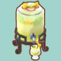 レモンのドリンクサーバー