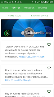 Radio Sevillanas web- screenshot thumbnail