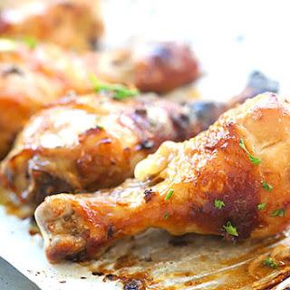 Honey Lemongrass Baked Chicken
