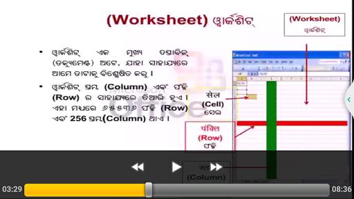 Spreadsheets Basics Oriya for PC