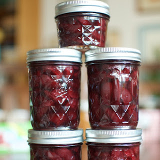 Lightly Pickled Sweet Cherries