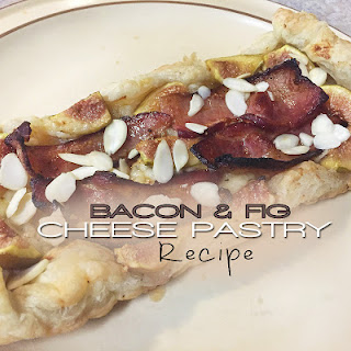 Bacon and Fig Cheese Breakfast Pastry