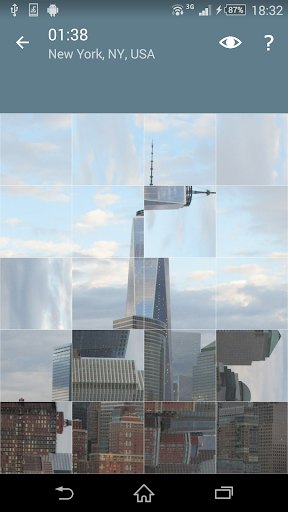 ジグソーパズル: 都市