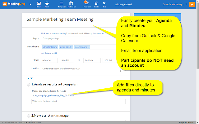 task 2 manage meetings How meetingking can help with managing meeting tasks more efficiently general information on meeting task management what is a task.