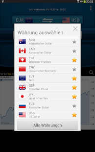Währungsrechner Easy Currency+ Screenshot