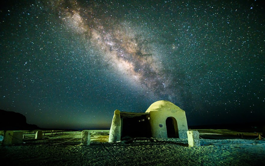 Milky way by Mohamed Hussein - Landscapes Starscapes ( milkyway, night photo, astro, nikon, egypt, galaxy )