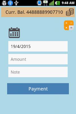 Cash Book - screenshot