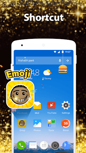 Black Emoji Phone for PC