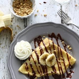 Nutella-Banana Crepes