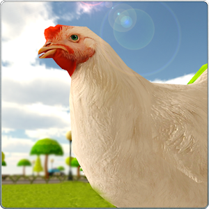 Crazy Chicken Simulator 3D for PC and MAC