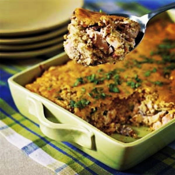 Chicken Dressing Casserole Recipe
