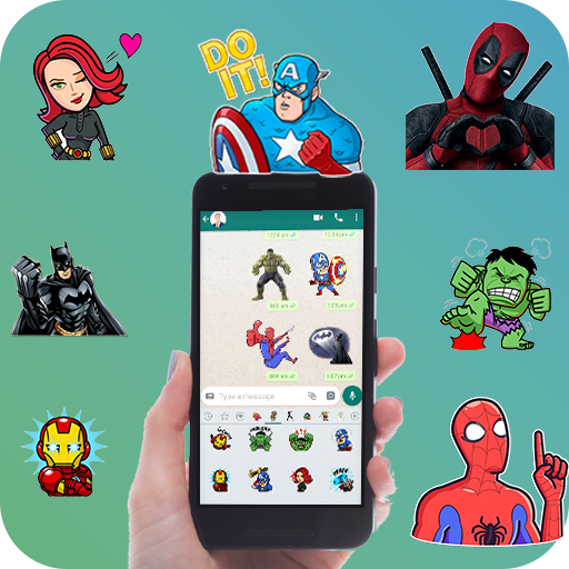 WAStickerApps - Superhero Stickers for WhatsApp