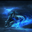 Blue Horse Live Wallpaper icon