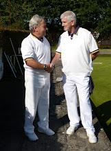 Photo: Bob Brown & Dave Lane in the Non-Winners.