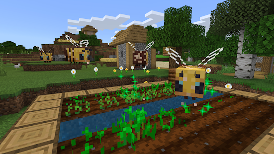 Minecraft-Demoversion Screenshot